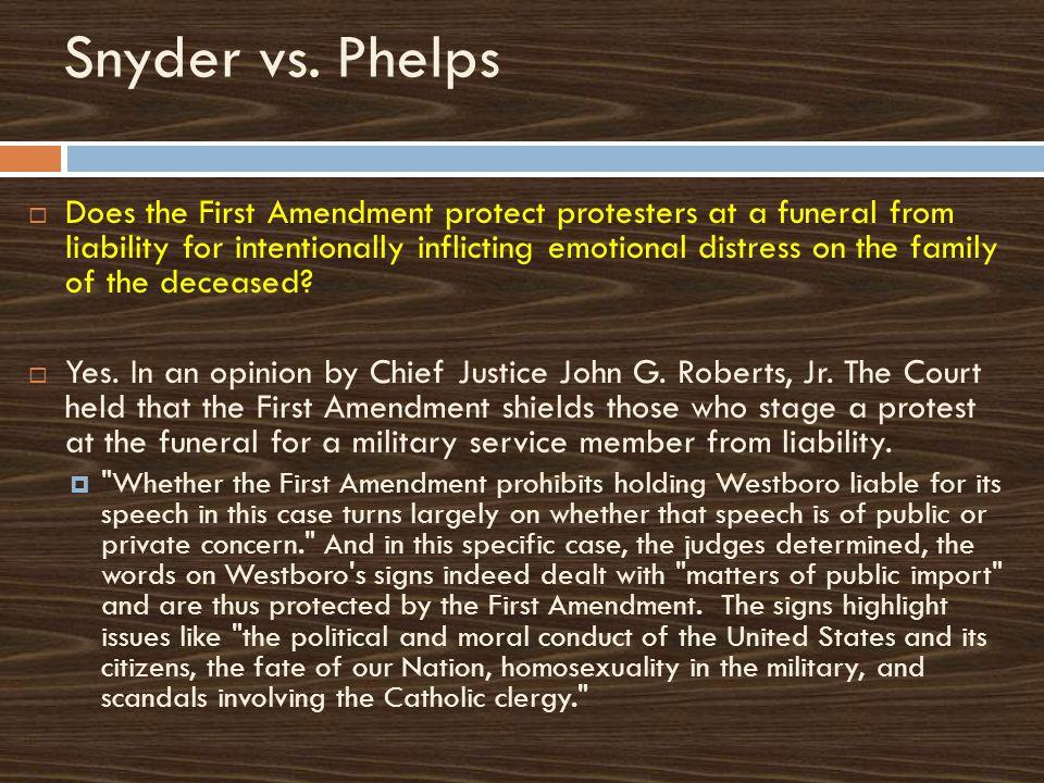 Snyder vs.