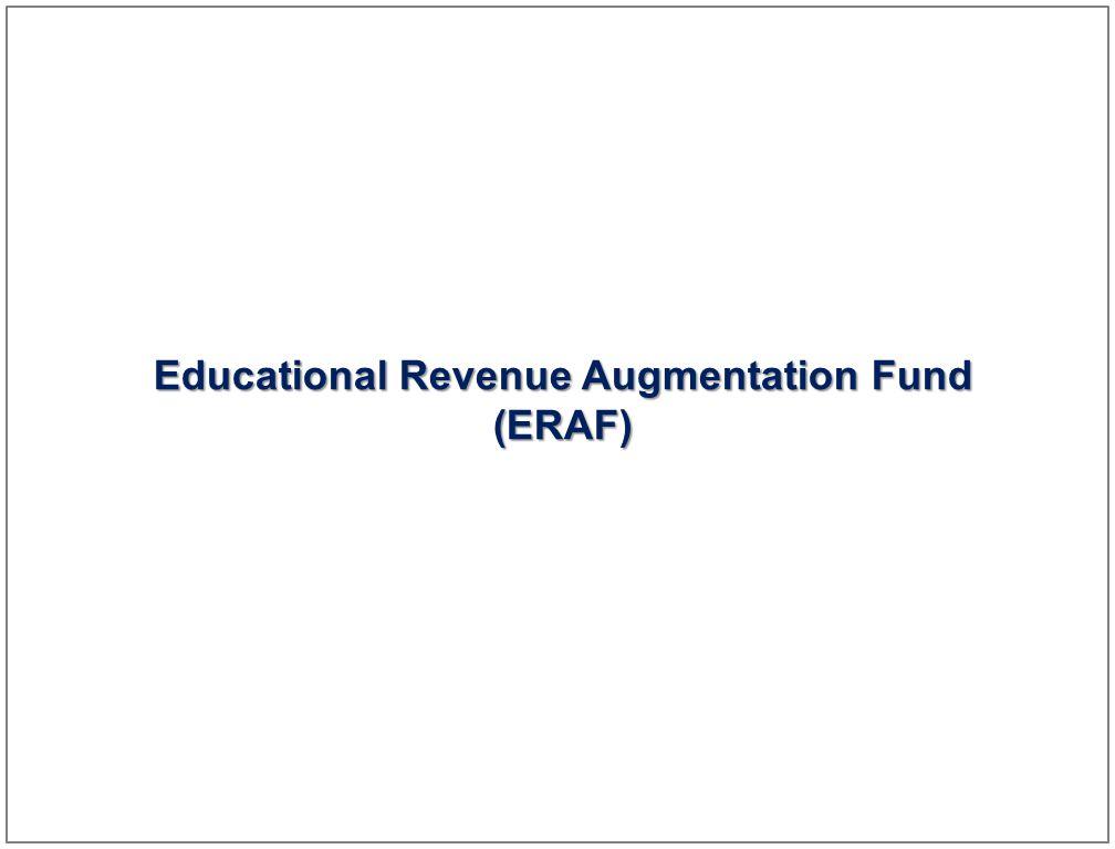 19 Educational Revenue Augmentation Fund (ERAF)