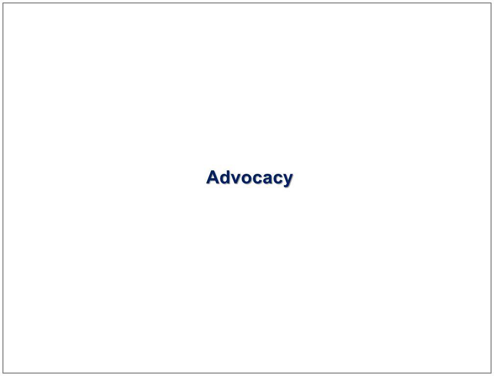 30 Advocacy