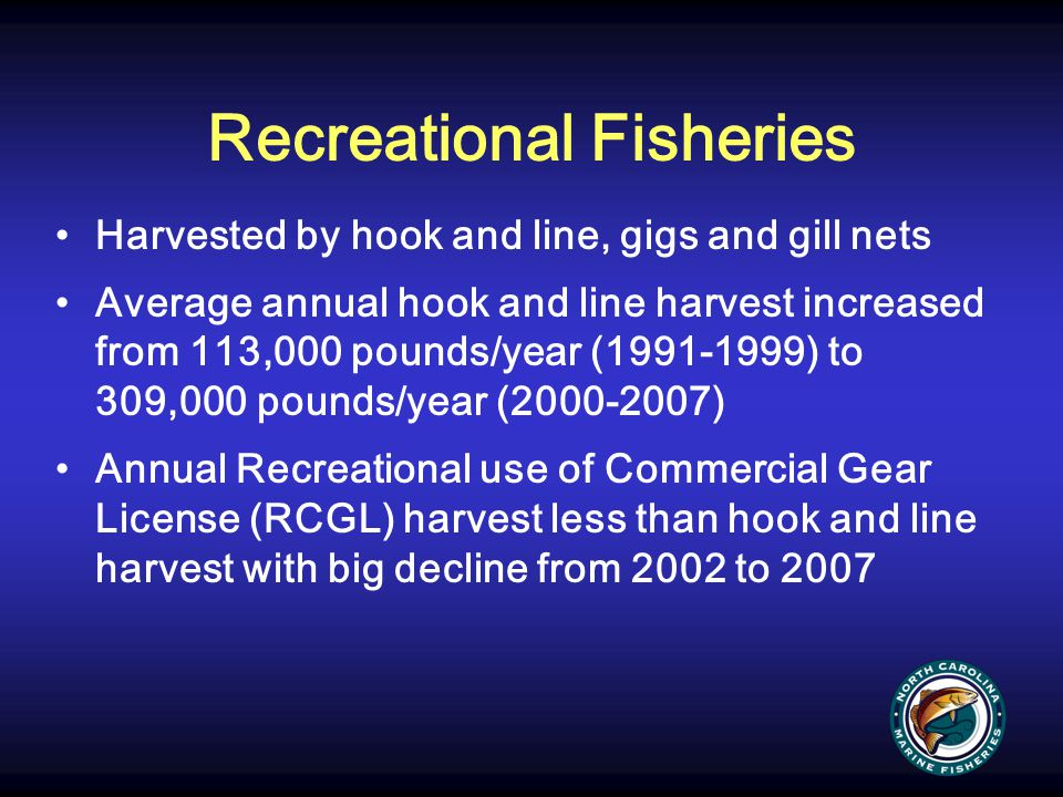 AC Recommendation Status quo regarding the RCGL license until there are data indicating a negative influence on southern flounder and support the NCDMF research recommendations as well as a survey of SCFL holders who are inactive to collect data on what SCFL holders are doing with their licenses DMF Recommendation Status quo and address research recommendations
