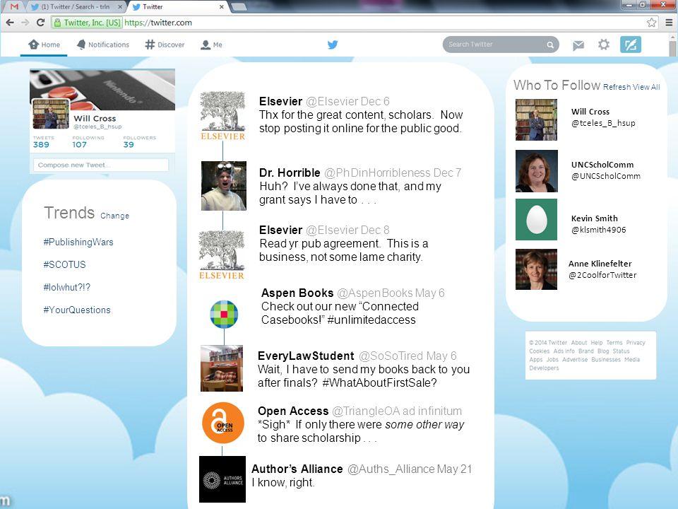 Trends Change #PublishingWars #SCOTUS #lolwhut !.