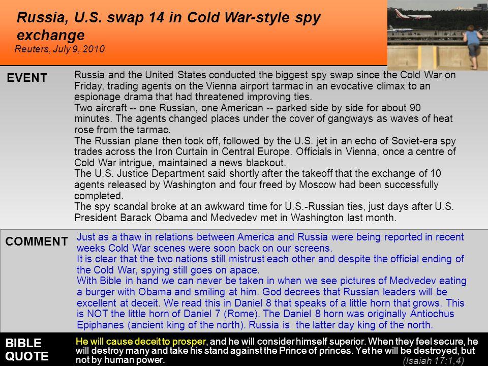 Russia, U.S.