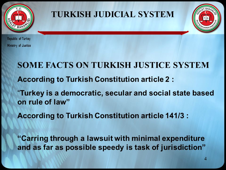 55 Republic of Turkey Ministry of Justice Thank you very much for your attention If you have any questions please don't hesitate to contact ctanrikulu@adalet.gov.tr