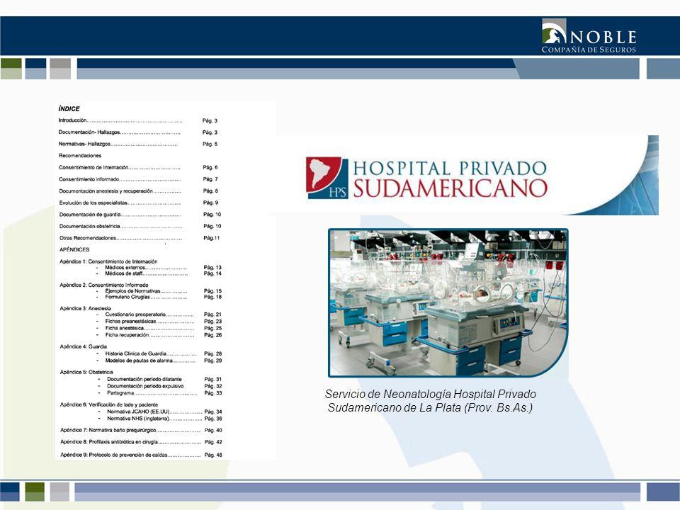 Servicio de Neonatología Hospital Privado Sudamericano de La Plata (Prov. Bs.As.)