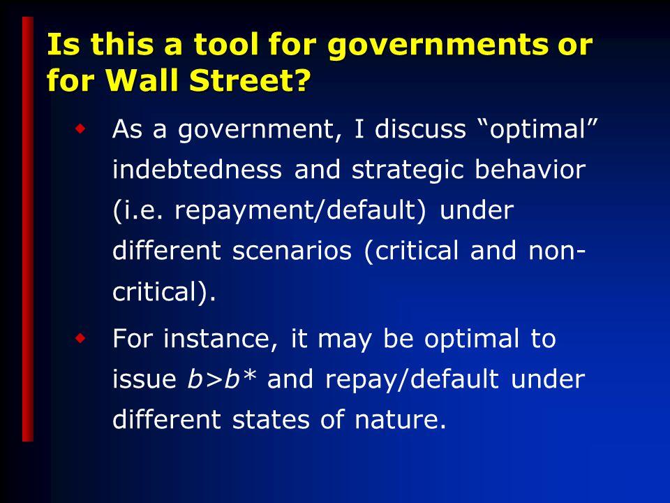 Debt projections and sensibilities… Base Scenario 2 std dev shock in 2004 to % GDP 3