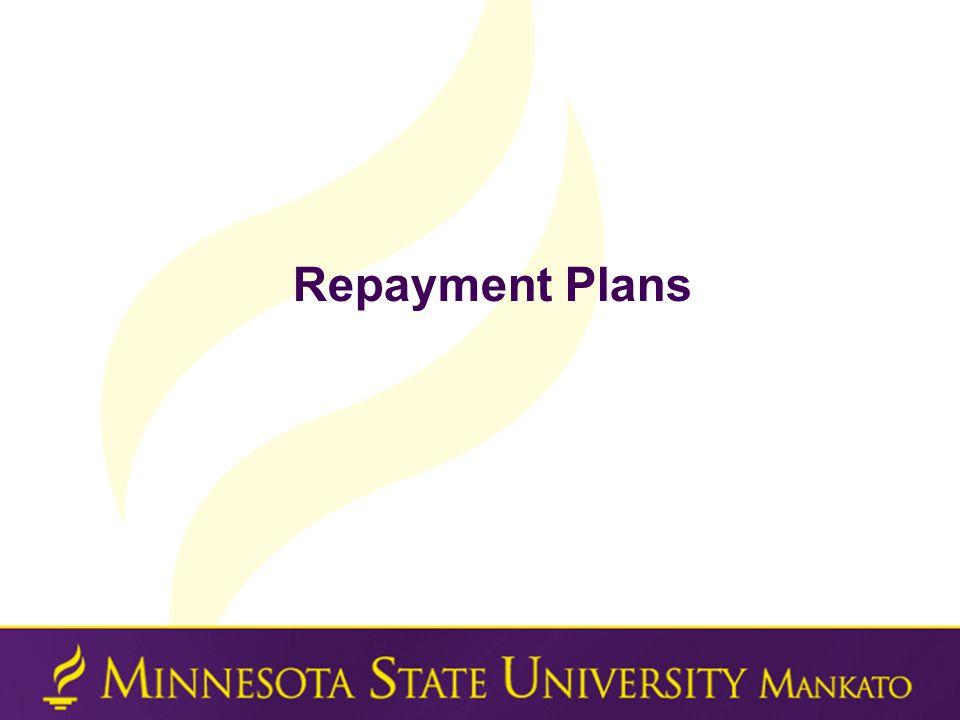 Repayment Plans
