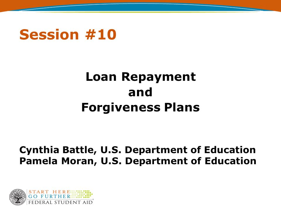 2 Agenda  Direct Loan and FFEL Repayment Plans  Other Repayment Strategies  Direct Loan and FFEL Discharges and Forgiveness  ED Services and Loan Servicing Tools  Appendix