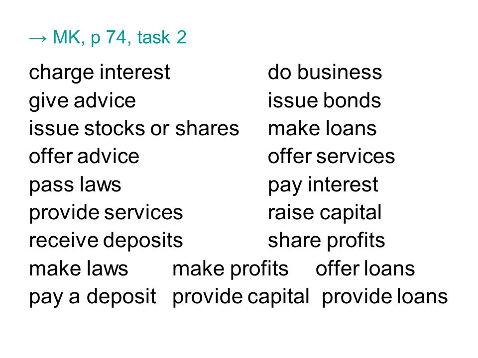 Crisis of Credit Vocabulary focus 1 subprime borrowers A failure to repay a loan 2 credit ratingB investment fund that combines safe & risky investments 3 default C clients who may not be able to repay their loans 4 hedge fund D assets you promise to give if you cannot repay a loan 5 security E estimates of people's ability to fulfill their financial commitments 6 forecloseF to take possession of one's property because they failed to continue paying a loan