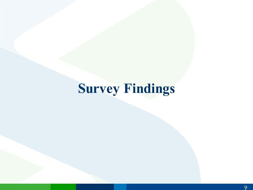 9 Survey Findings