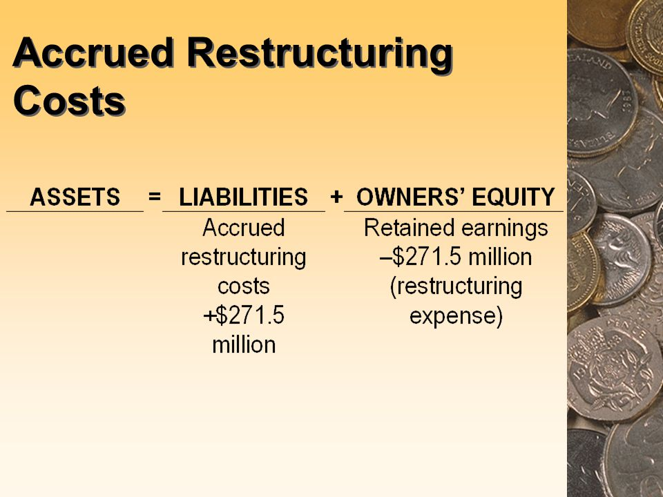 Accrued Restructuring Costs