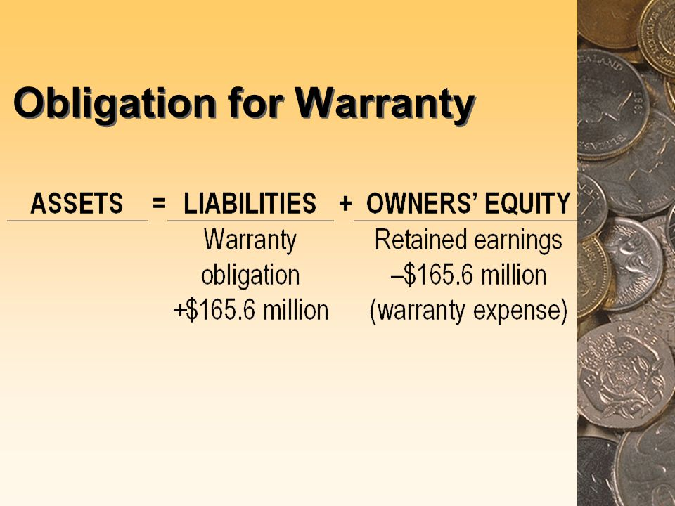 Obligation for Warranty