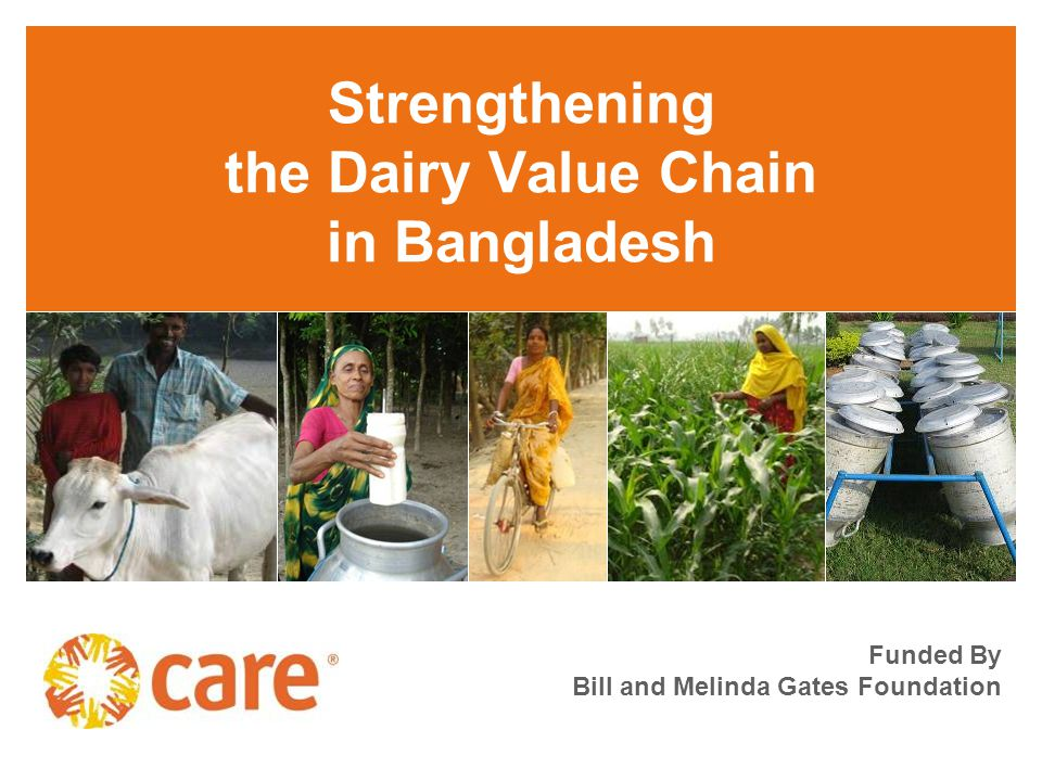 Strengthening the Dairy Value Chain in Bangladesh Funded By Bill and Melinda Gates Foundation