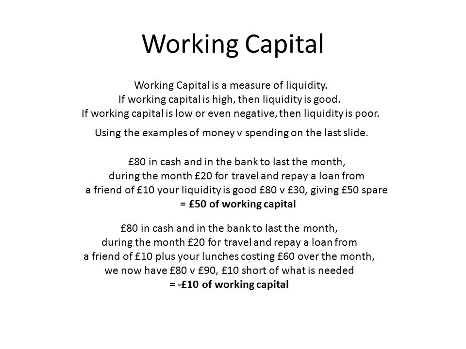 Calculating Working Capital 2012 (m) 2011 (M) Fixed Assets247231 Current Assets Stock147141 Debtors7059 Cash and Bank2486 Total Current Assets Current Liabilities Net Current Liabilities/Assets (62)25 Total Assets less Current Liabilities 185256 Long-term Liabilities 2429 Shareholders' Funds 161227 Capital Employed 185256 The figures we need are from the firm's Balance Sheet.