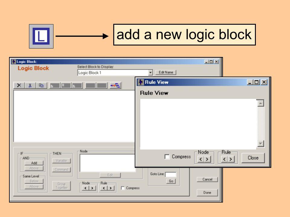 L add a new logic block
