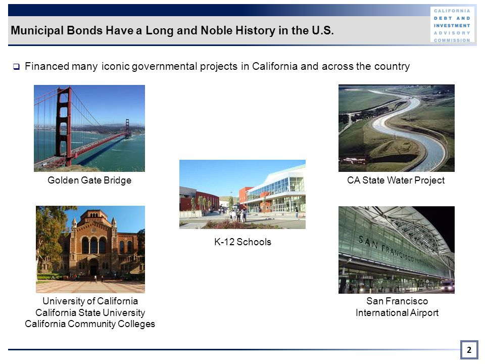 Municipal Bonds Have a Long and Noble History in the U.S.