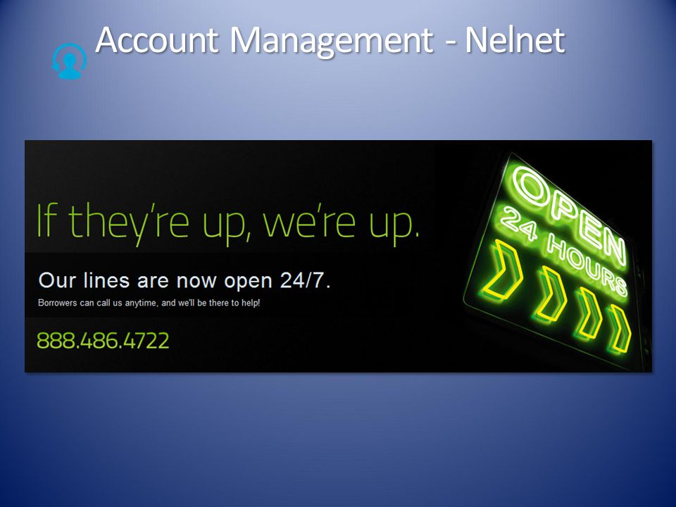 Account Management - Nelnet