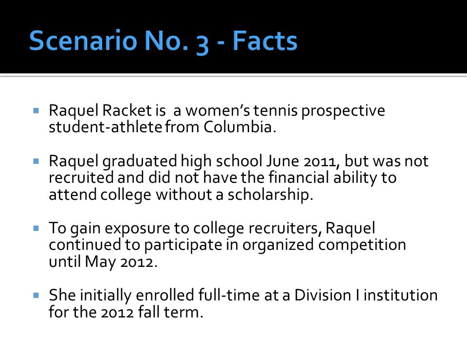  Raquel Racket is a women's tennis prospective student-athlete from Columbia.