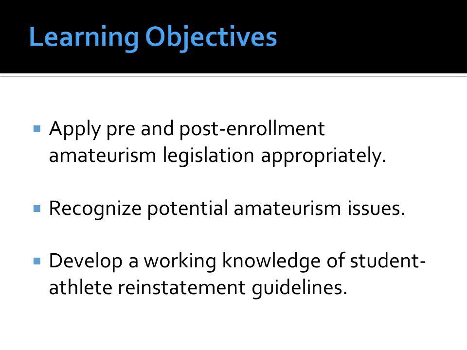  Guidelines:  Bylaw 12.1.2.1.6 (Preferential Treatment After Enrollment).