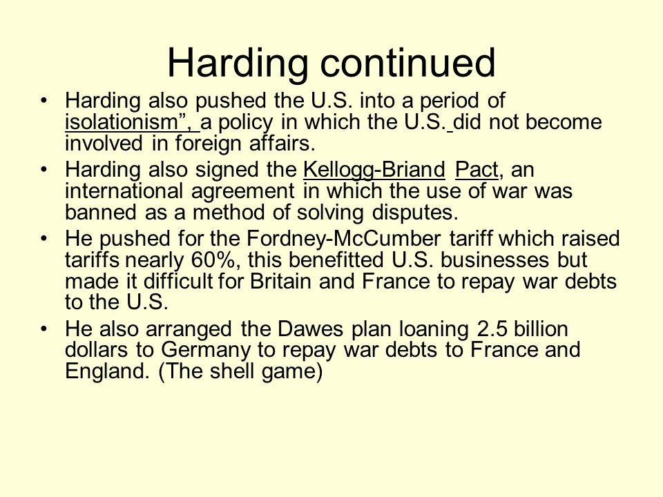 Harding's death August 2 1923, he suffered a massive stroke or heart attack and died.