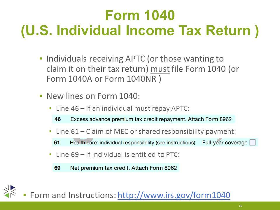 Form 1040 (U.S.