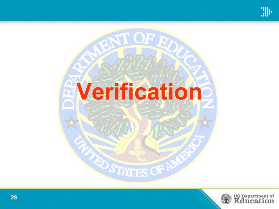 Verification 28