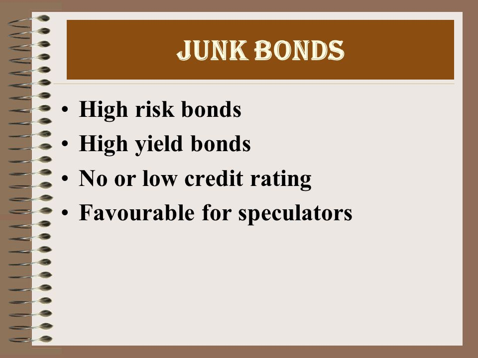Deep Discount Bonds Type of zero interest bond Non convertible Redeemed after expiry of specific period at face value Return on these bonds is difference between issue price and maturity value No coupon rate and no interest during life of the DDB