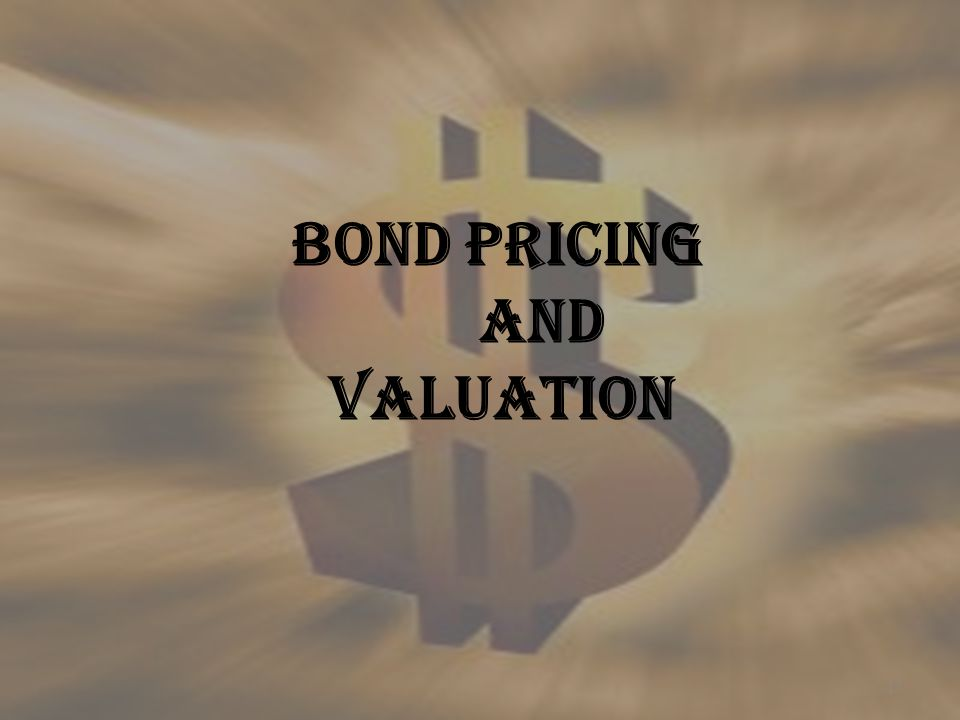16 P = Interest * PVAF(YTM,n) + RV * PVF(YTM,n) P = Market Price PVAF = Present Value Annuity Factor PVF = Present Value Factor YTM = Yield to Maturity N = Life of the Bond in years RV = Redemption Value YIELD TO MATURITY