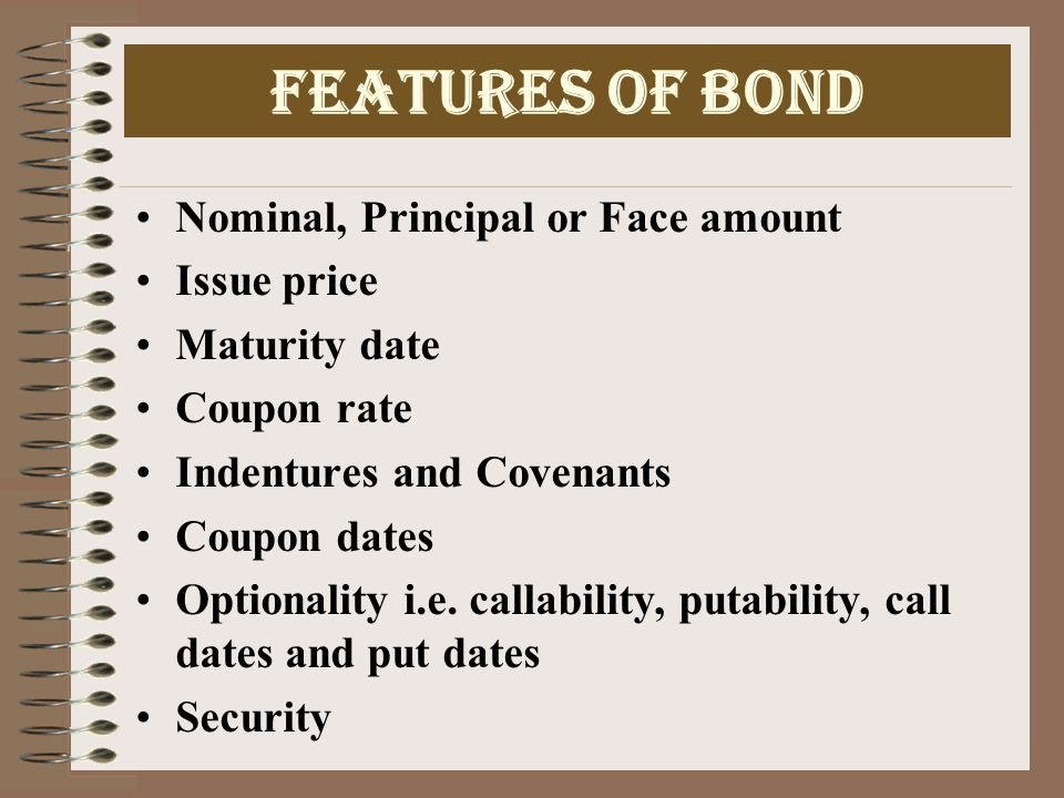 Bond Valuation and Time to Maturity The value of the bond approaches its par value as the time to maturity approaches its maturity date.