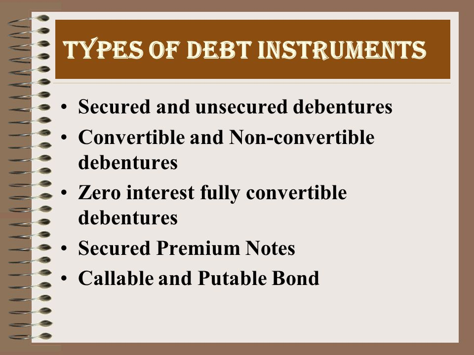 FEATURES OF BOND Nominal, Principal or Face amount Issue price Maturity date Coupon rate Indentures and Covenants Coupon dates Optionality i.e.
