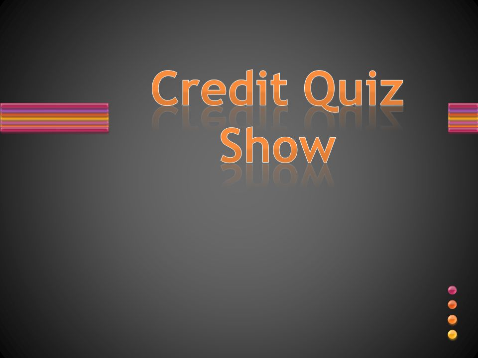 TRUE or FALSE? Age, salary, race where you live and occupation all factor into your credit score.