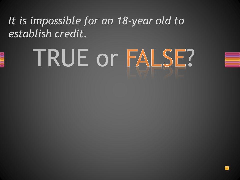 TRUE or FALSE? A credit score less than 500 is risky?