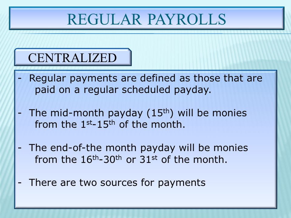 COMPUTE ADVANCE PAY 5 STEPS cont….STEP #4.