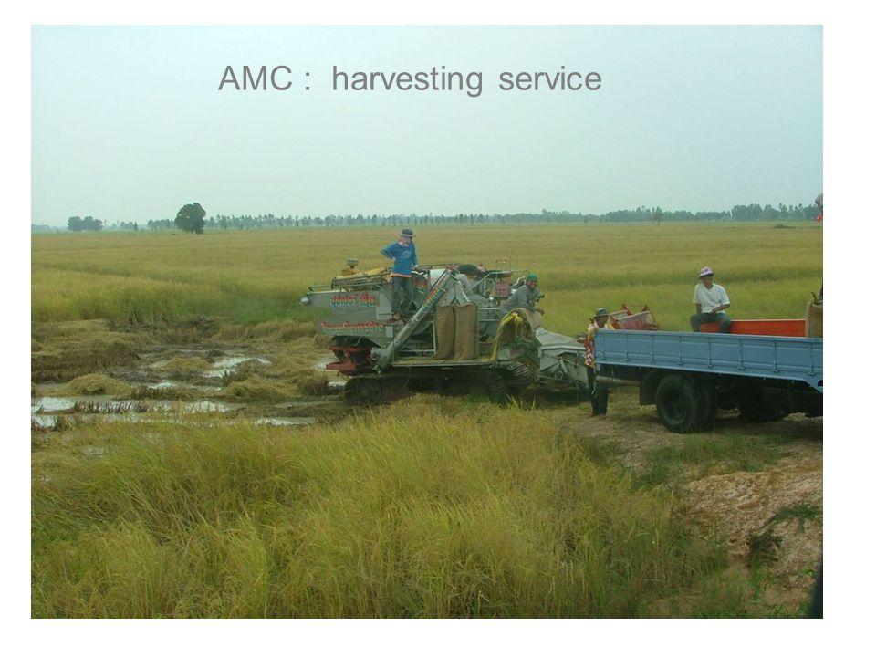 AMC : harvesting service