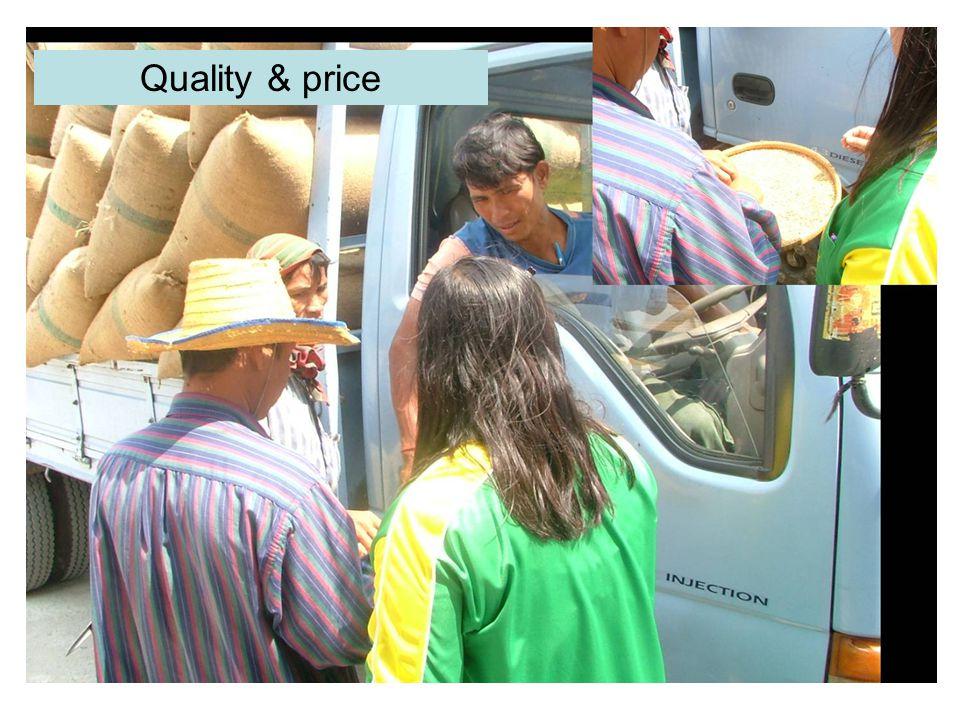 Quality & price