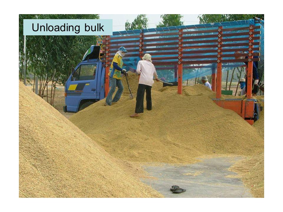 Unloading bulk