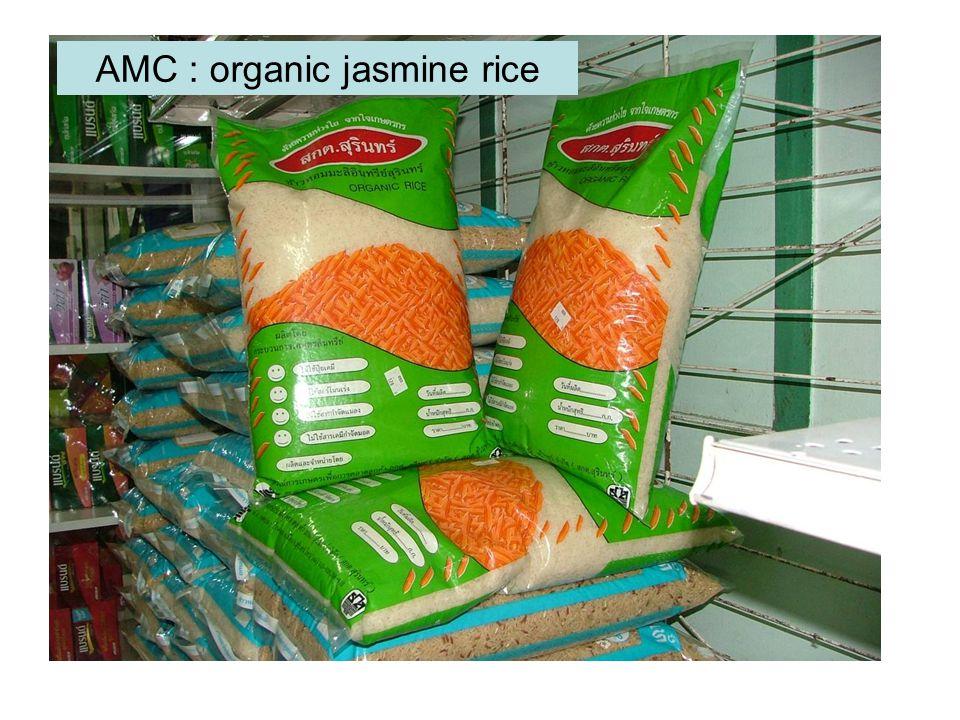 AMC : organic jasmine rice