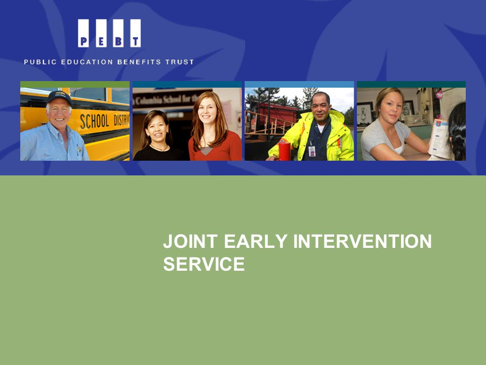 JOINT EARLY INTERVENTION SERVICE