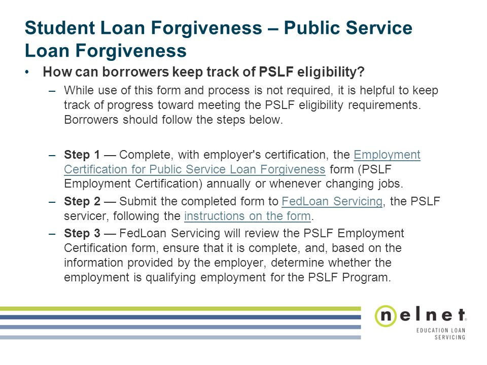Student Loan Cancellation And Discharge Session Objectives