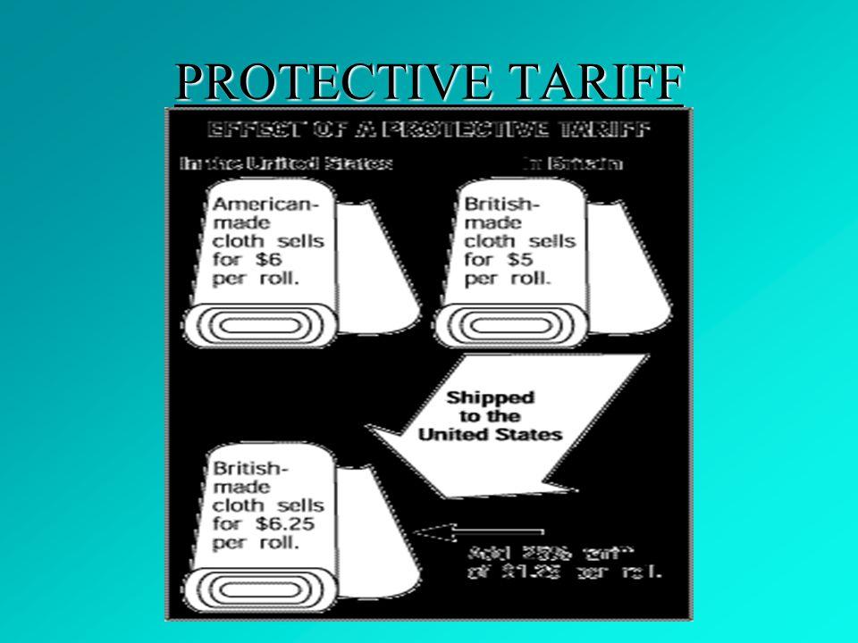 PROTECTIVE TARIFF