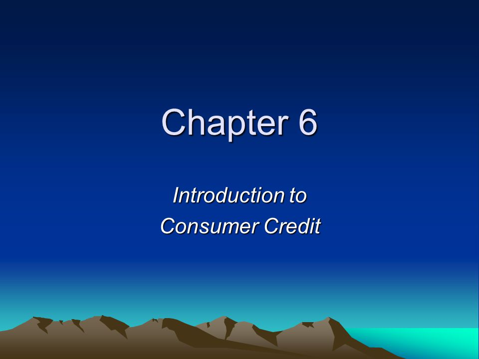 Five C's of Credit Character—will you repay the loan.