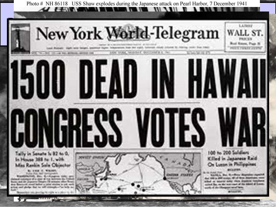 On Dec 7, 1941, the U.S.