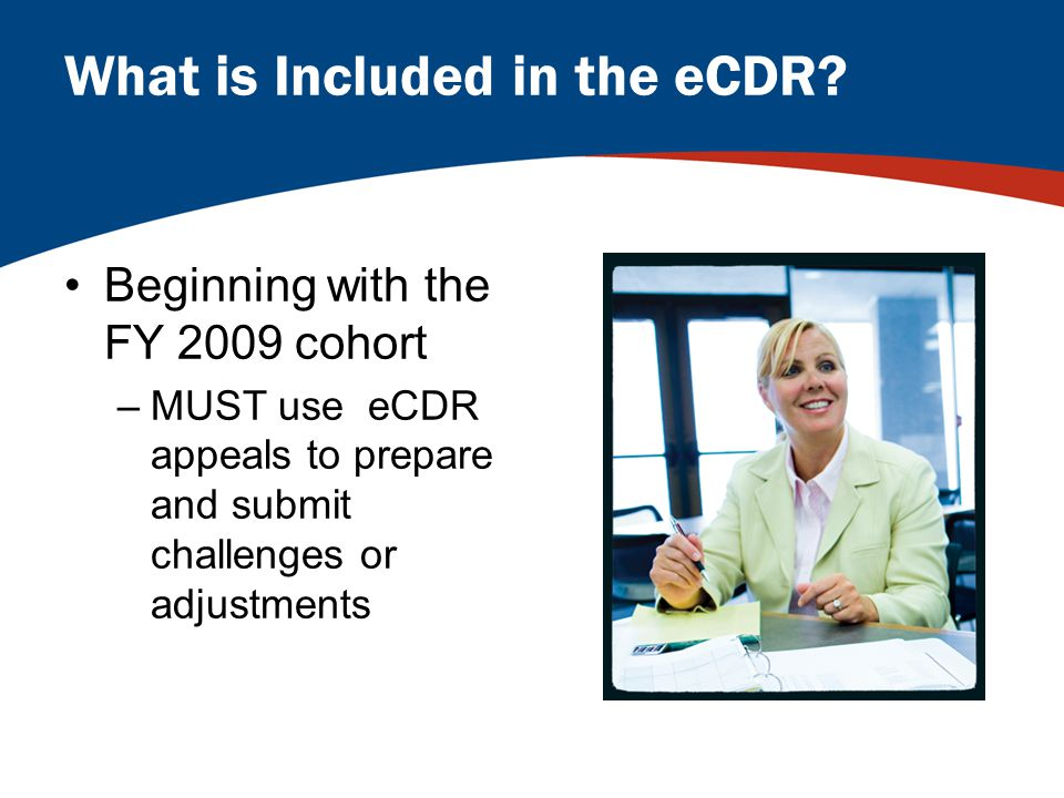 What is Included in the eCDR.
