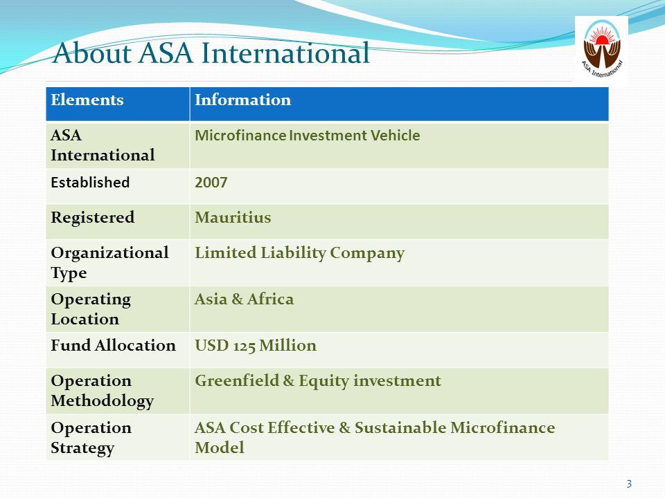 ASA International - Global Presence