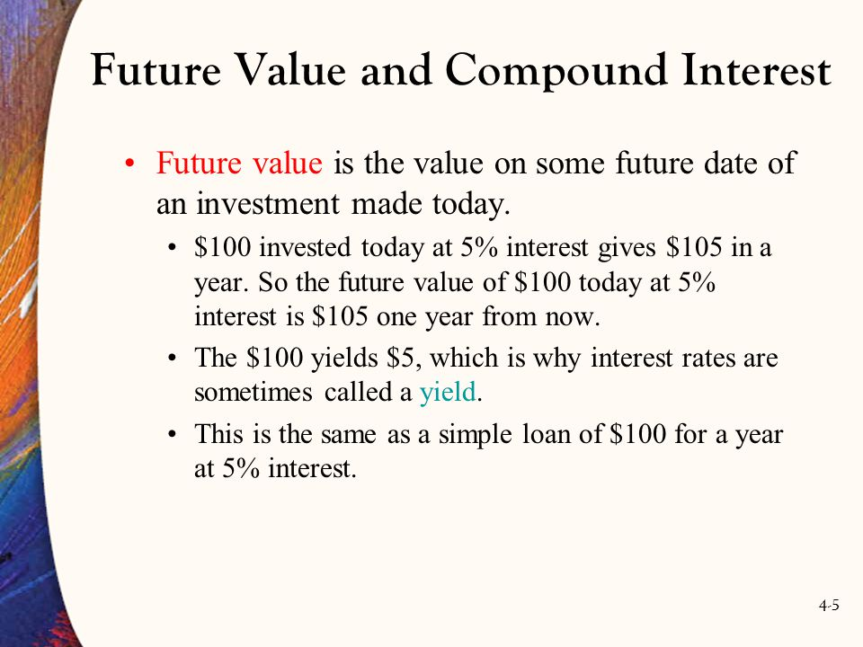 4-36 Valuing the Principal Assume a bond has a principle payment of $100 and its maturity date is n years in the future.