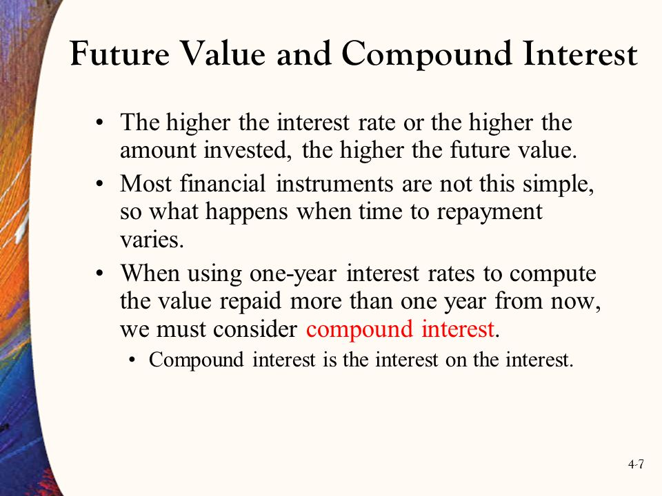 4-18 Figure 4.1: Present Value of $100 at 5% Interest