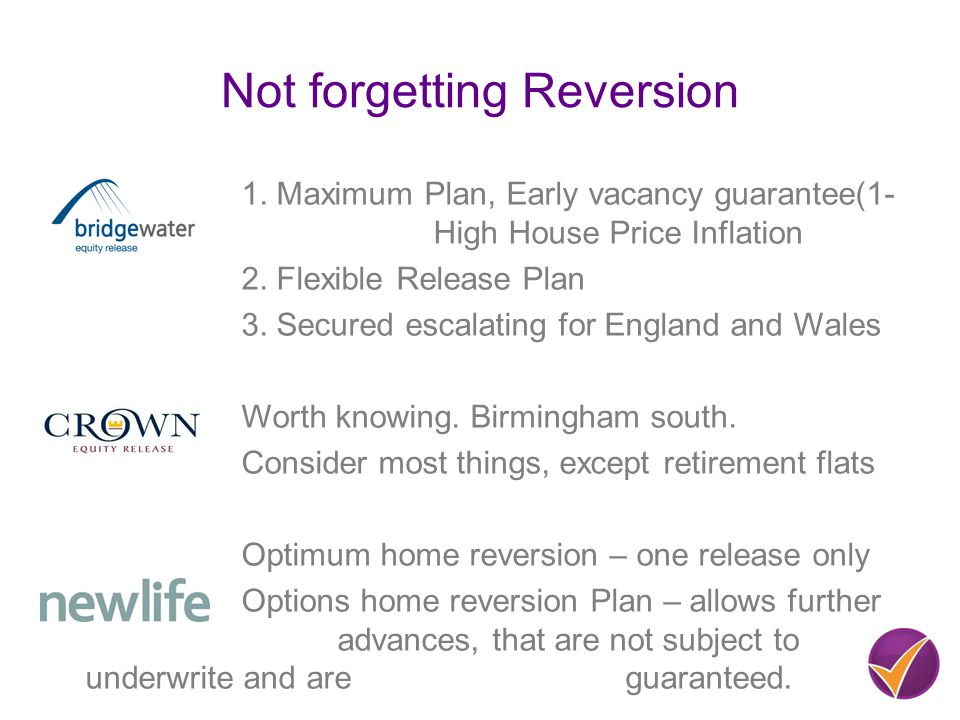Not forgetting Reversion 1.