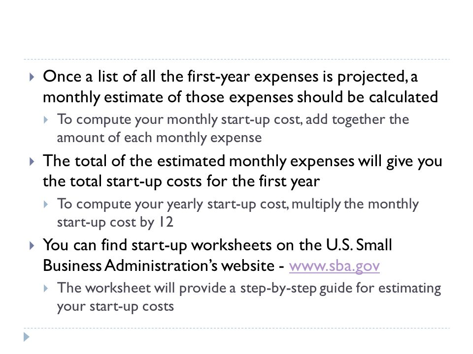 WHERE TO GET MONEY  Completing the start-up costs estimations will give you a good idea about the amount of money needed to open & operate your business  There are several methods for financing a new business  Often a combination of financing methods is used  Some financing methods include:  Your own money  Loans from family or friends  A loan from a bank or other lending agency, &  Money from a venture capitalist company