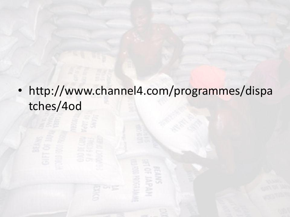 http://www.channel4.com/programmes/dispa tches/4od