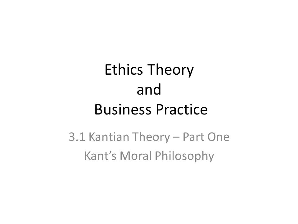 aims to explain the emphasis that Kantian ethics theory places on intention, reason and freedom to explain why Kant believed actions that are motivated by a reason-based sense of duty to be most deserving of ethical esteem