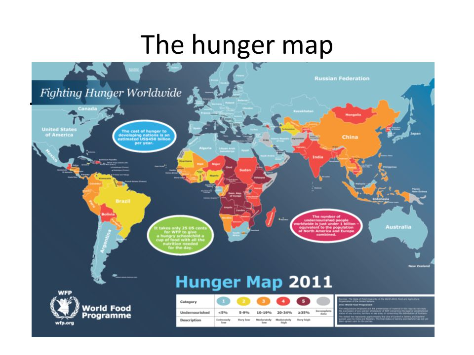 The hunger map.